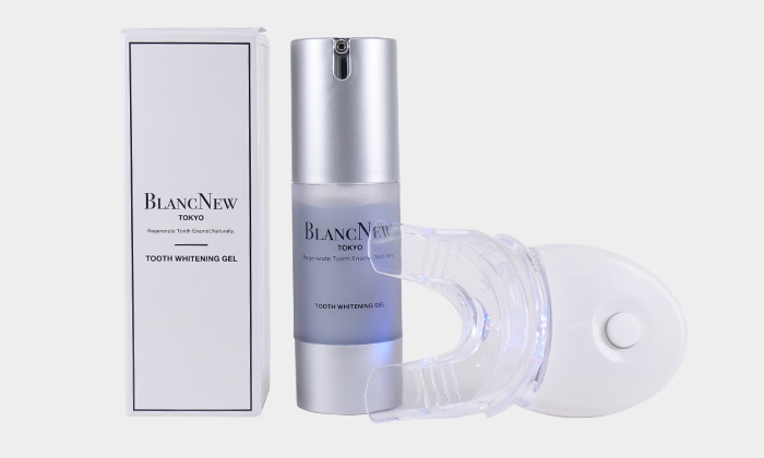 歯科革命 BLANC NEWブランニュー メタリンホワイトニングジェル 照射器付き