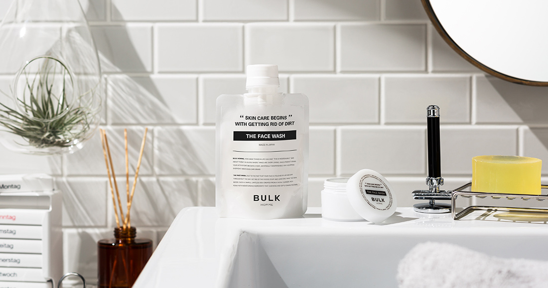 BULK HOMME(バルクオム)THE FACE WASH(洗顔料)
